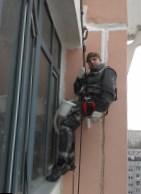 Гидроизоляция балкона альпинистом ООО Вертикаль