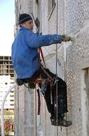 Промышленный альпинизм - ремонт дома